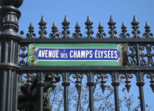 champs-elysees-sign